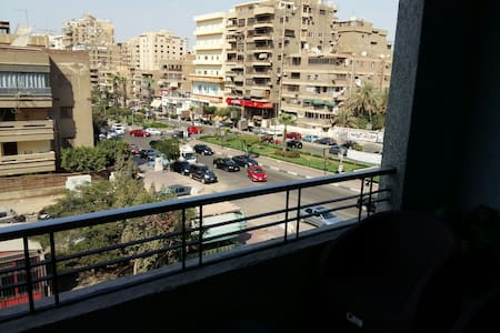 Amazing view on Abbas El Akkad st.