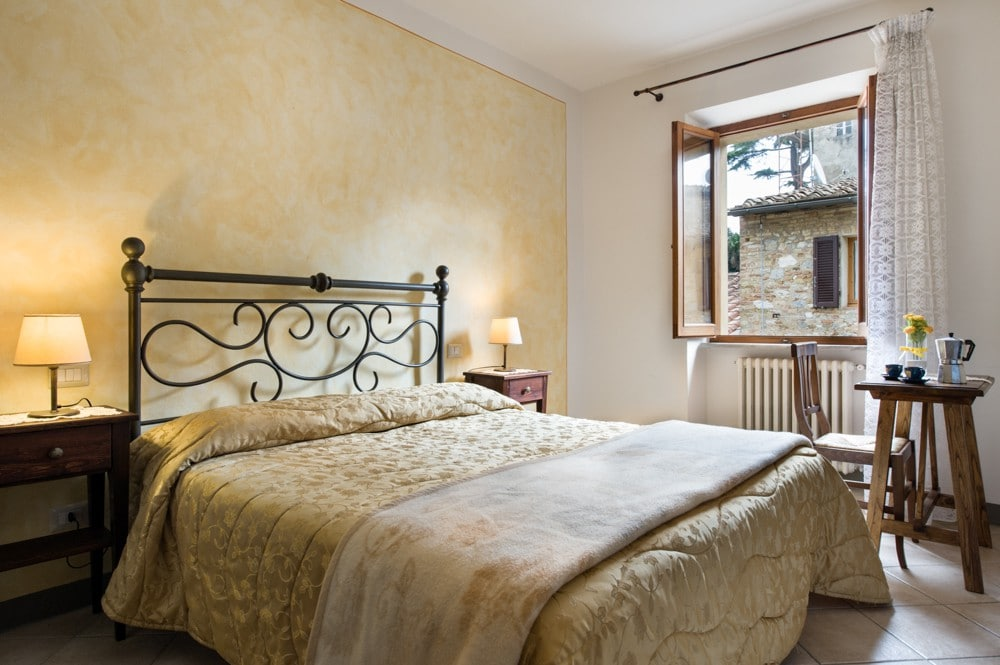 Townhouse in a mortgage in San Gimignano