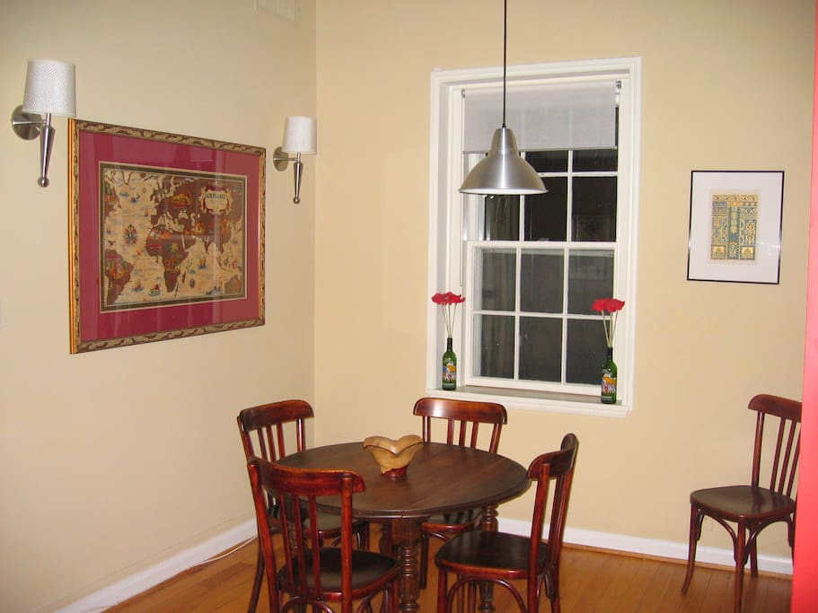 Dining Room with Bistro Dining table