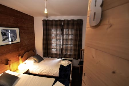 Twin Non Ensuite - Chamonix Lodge - Chamonix-Mont-Blanc - Bed & Breakfast