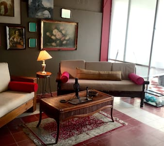 Loft at Playa Los Muertos ideal for two; just half a block and surrounded by resturants, shopping, entertainment and more; very comfortable facilities including dining terrace by the balcony to see the sea and the street; for days, weeks and month