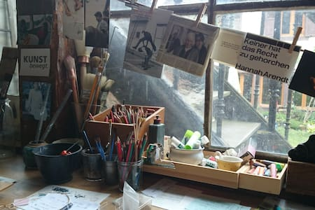 La Maison-Atelier de Patricia - Sainte-Marie-aux-Mines - Haus