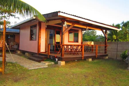 Tahiti Surf Beach Paradise Matahina - Bungalow