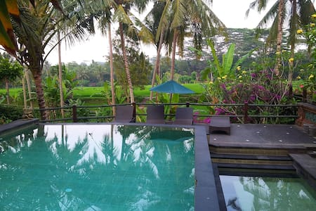 1,5 BR Villa+Pool, near Ubud Center