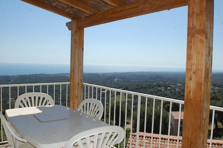 T3 terrasse vue mer/mont 8mn plages - valle di campoloro