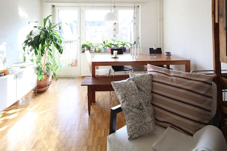 Entire flat in a trendy area - Zurich - Apartment