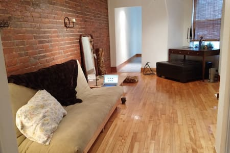 Big and warm Montreal appartement
