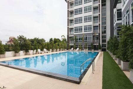 My Hip Condo M313紧邻Big C超市的精品公寓 - Nong Pa Khrang - Apartment