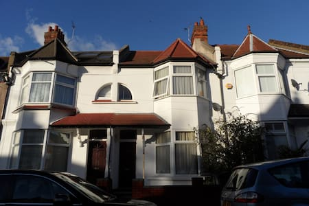 Lovely two bedroom flat with garden