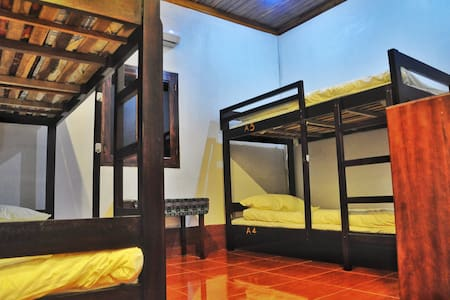 Muenna 1989 Guesthouse dorm bed - 琅勃拉邦(Luang Prabang) - 宿舍