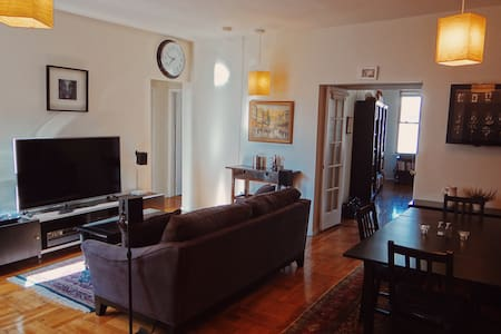 Spacious apt. with a great feel