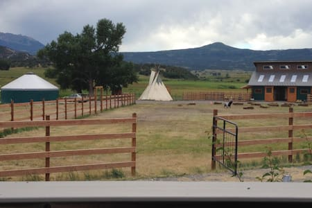 Fully Furnished YURT! - Ridgway - Jurta