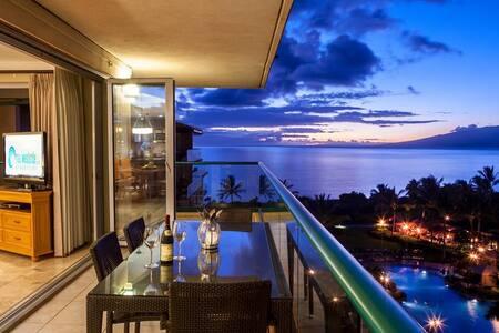 Maui Westside Properties: Hokulani 609 - Great Ocean Views with Wraparound Lanai!