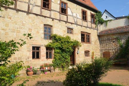 romantische Wassermühle Zappendorf - Salzatal - House