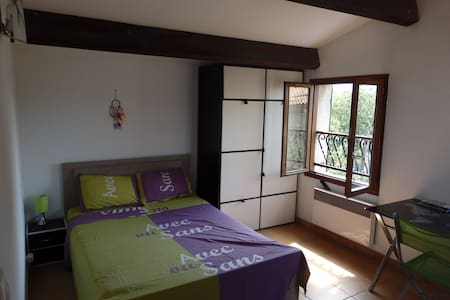 B&B Spacious room - Private terrace and bathroom - Rivitalo