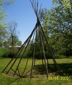 Chicken Ranch Resort, TeePee Camp - Tipi