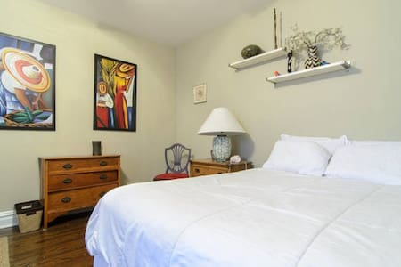 NYC Brooklyn Vibe Spacious 2 BR/BA Historic Dist - Jersey City - Συγκρότημα κατοικιών