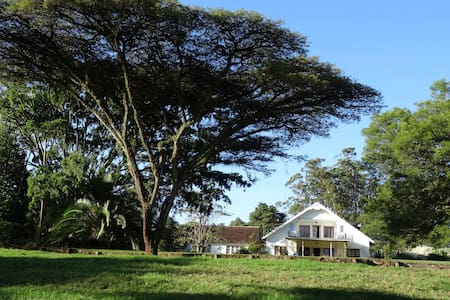 Twin Room in Farmhouse 12km NW of Village Market - Nairobi - Bed & Breakfast