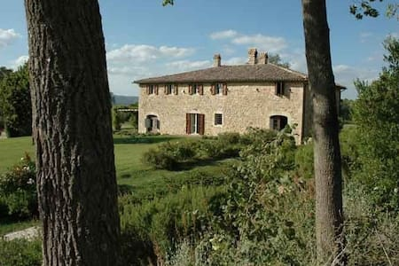 Umbria nr Todi tennis pool privacy - Villa