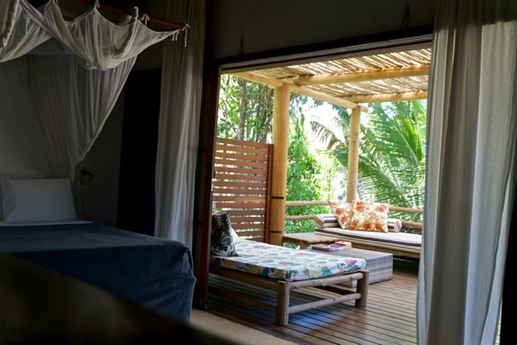 Central TRANCOSO, exotic BUNGALOWS