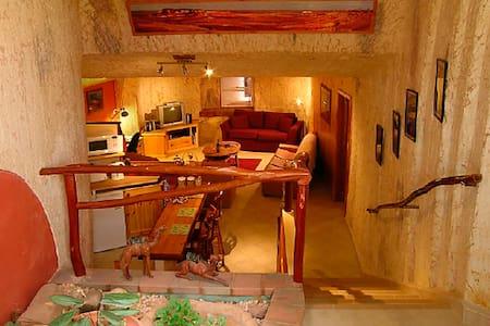 ! only Unique underground dwelling