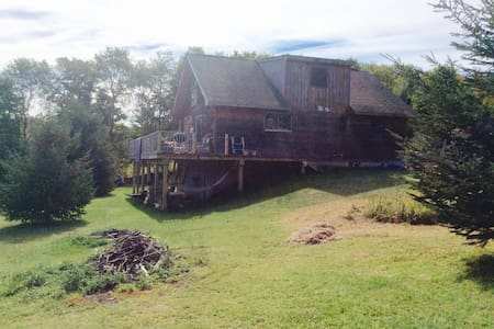 Catskills Chaletshack with a VIEW - Bovina Center - House