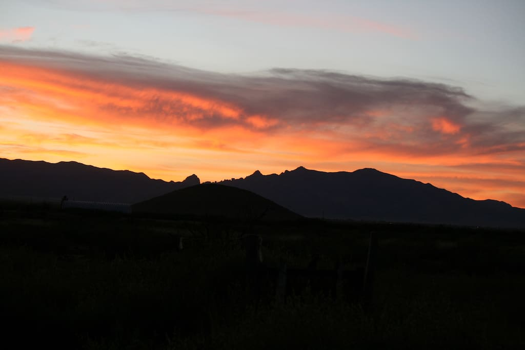 Hummingbird Ranch ~ Sunsets of The Cochise Stronghold National Park