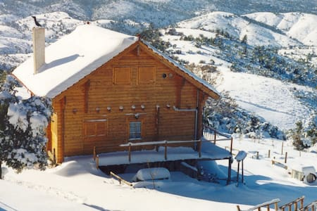 Wooden Chalet 2 Floors (fir forest) - Euboea