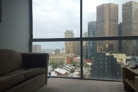 Bedroom with stunning view at CBD!