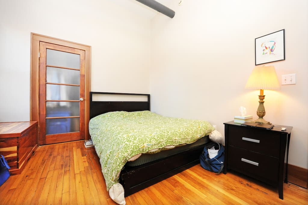 Master Bedroom, available when renting whole apartment