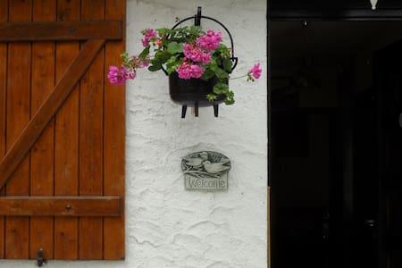 Etage dans maison dans jardin clos. - Villa