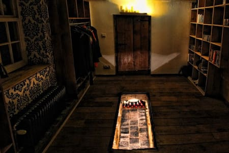 Dubbele kamer met privé badkamer - House