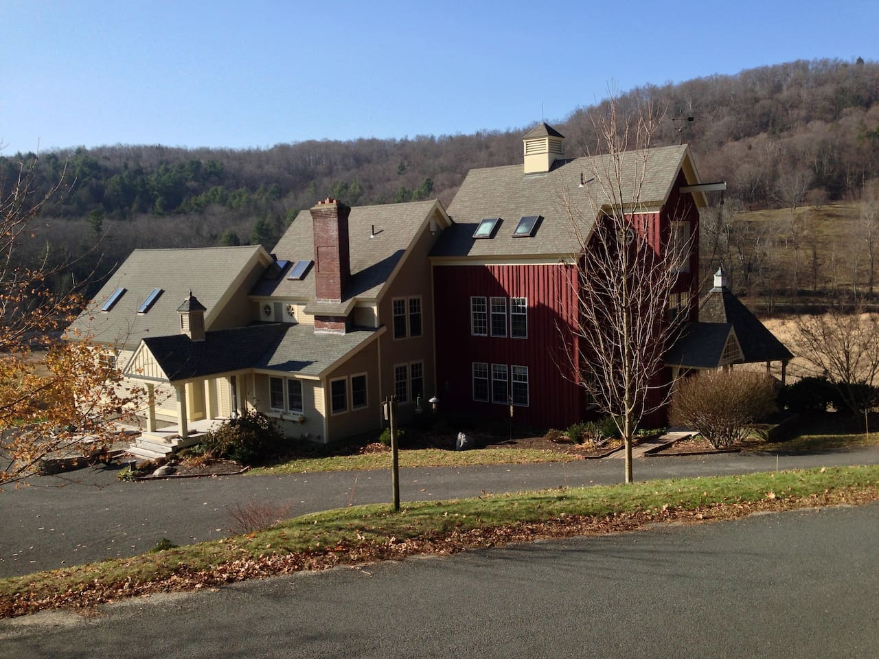 Our home in Shingle Valley, Shelburne, Massachusetts.