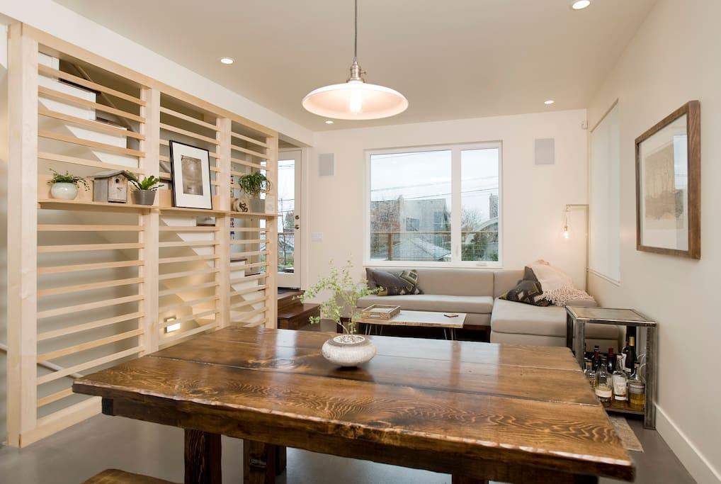 Living area (1st floor)