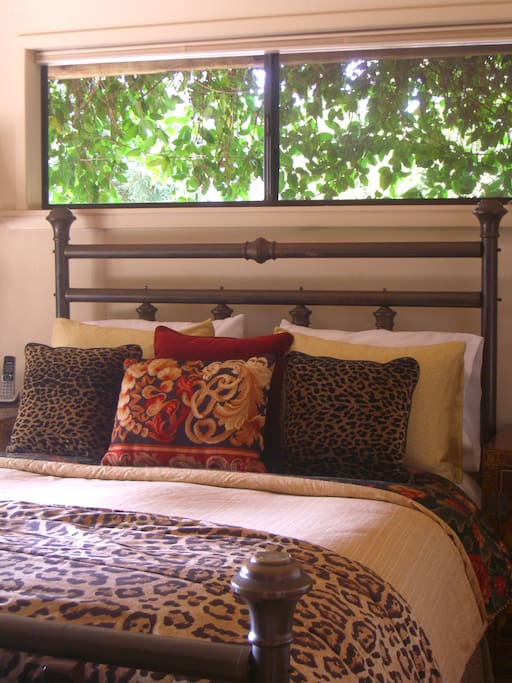 Guest Room no. 1 (Queen) feather bed mattress cover