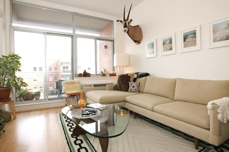 Amazing Apt! Private Rooftop Space!