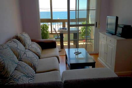 Vivienda en primera línea de playa - Apartamento
