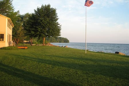 220ft of Breath-taking LAKE w Beach - Hilton - Casa