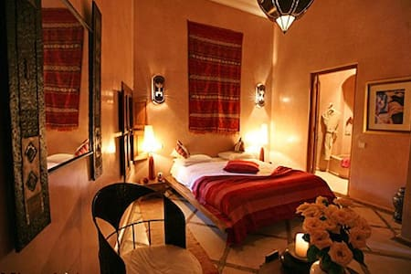 Riad Selouane room Tizougarine pool