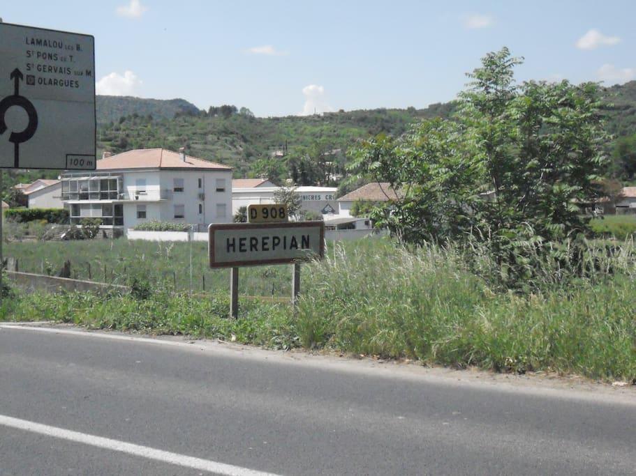 Arriving in Herepian