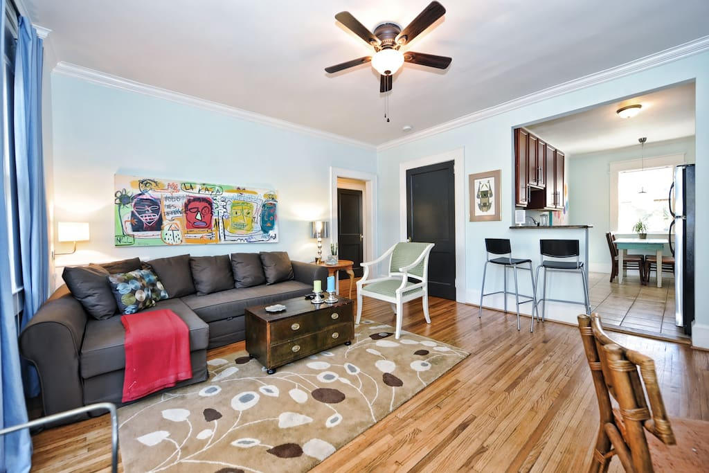 Furnished apartment in Charlotte