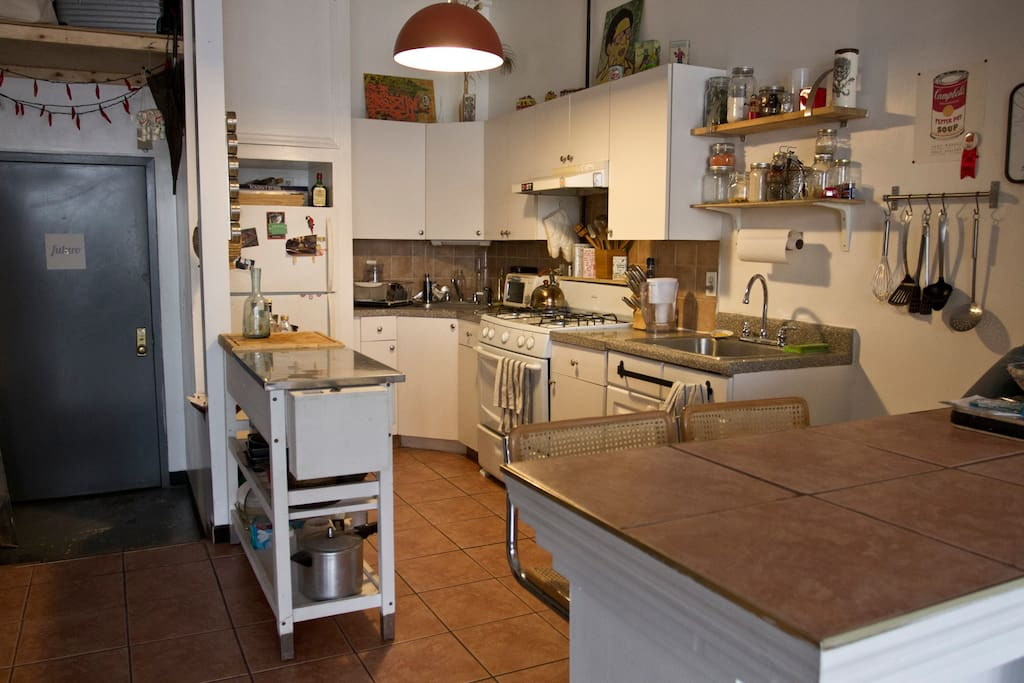 Massive and very comfortable kitchen