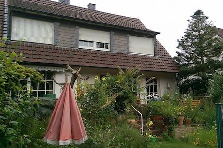 Ruhiges Zimmer in Haus-WG mit großem Garten - Münster - Casa