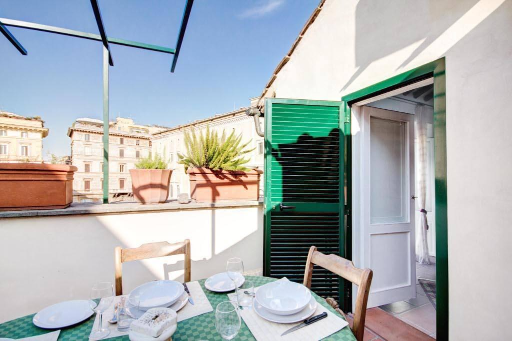 Terrace at Campo dei Fiori