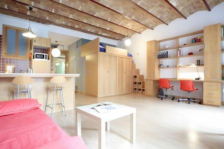 Cozy apartment ☼ perfect situation - metro & WIFI - Barcelona