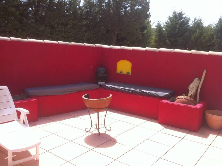 Villa avec piscine pour 2 personnes