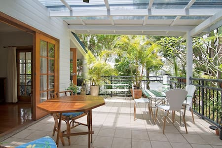 Light Cool Beach Holiday Apartment - Brunswick Heads - Appartement