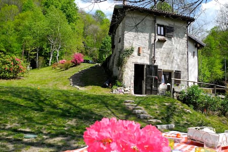 ancient mill in valsesia - Kabin
