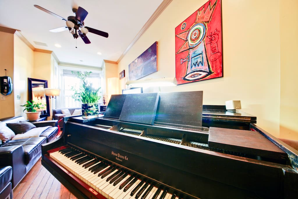 View from piano . . .