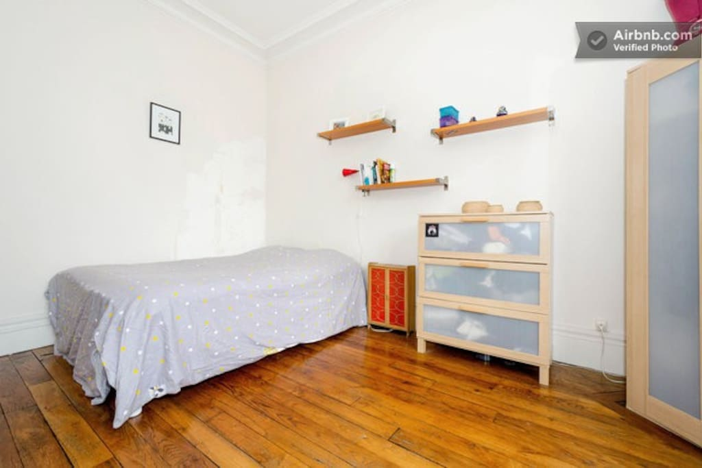 the sunny bedroom 15m²